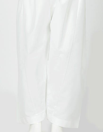 Off-White Cotton Silk - Kids Shalwar (JCS-102/S18)