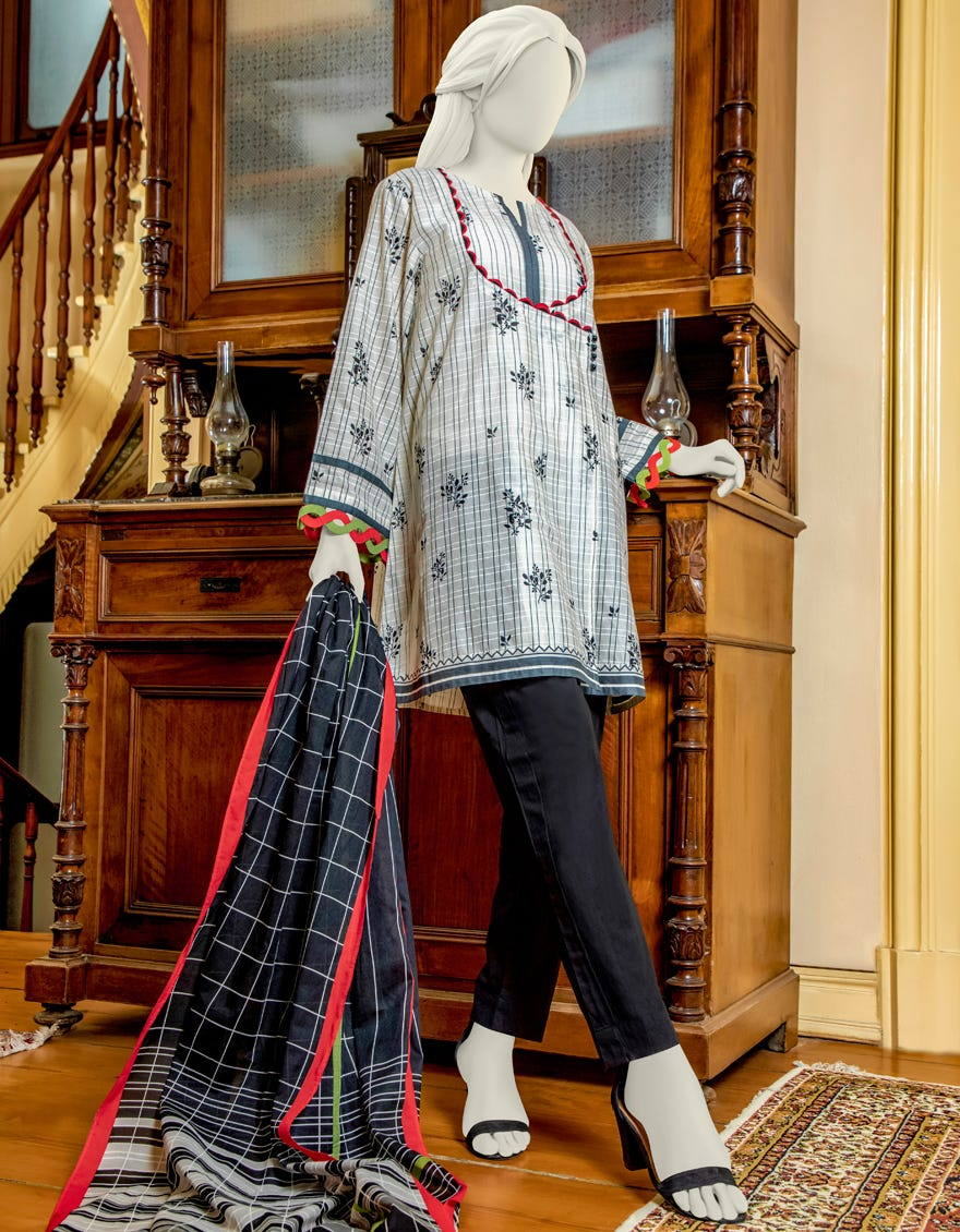 Junaid Jamshed JLAWN-S-JDS-21-1057 Inspired Eid Collection