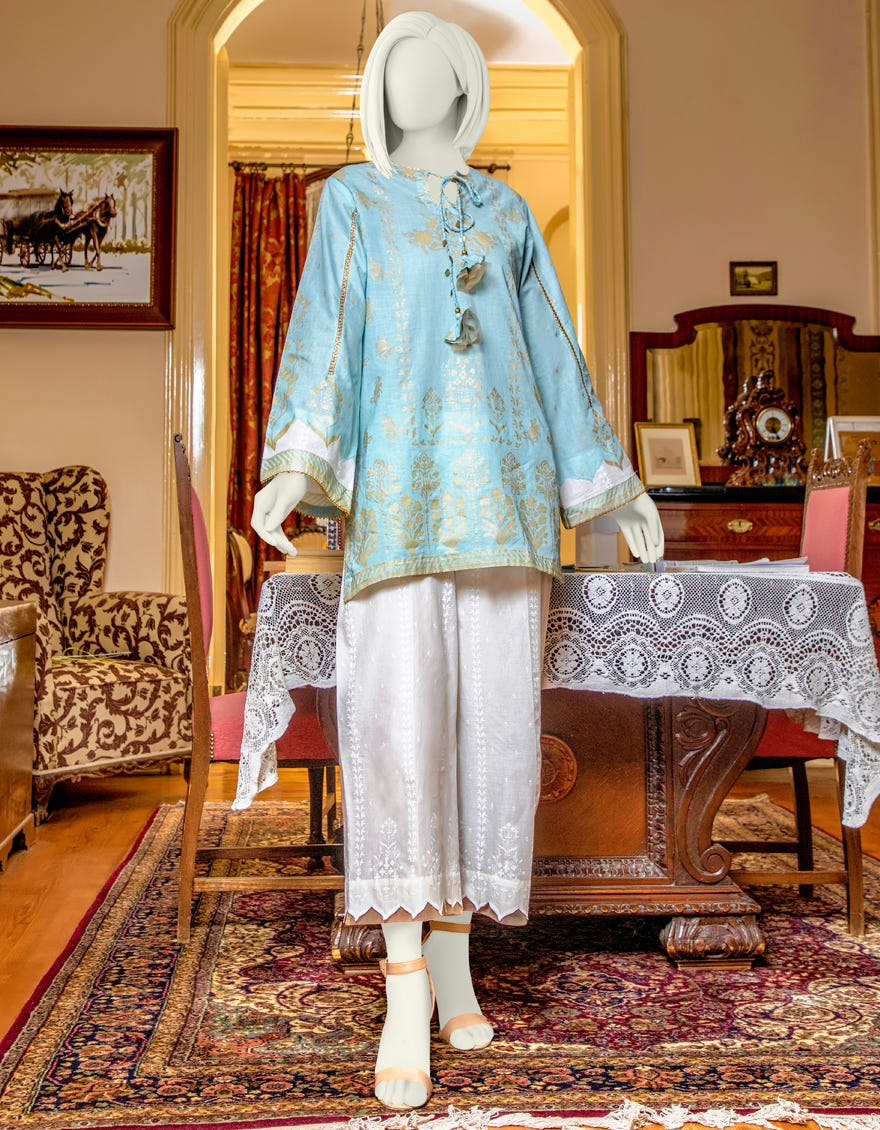 Junaid Jamshed JLAWN-S-JST-21-1621 Pearl Eid Collection