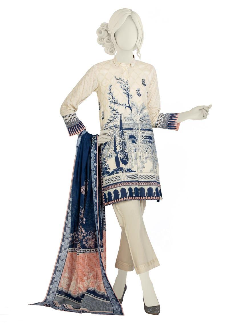 Junaid Jamshed JLAWN-S-21-183 S Mahrosh Eid Collection