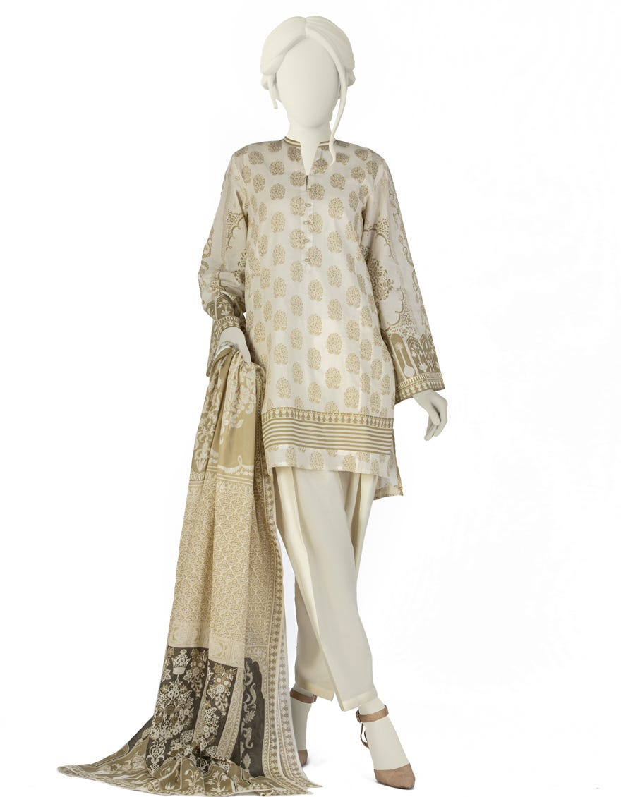 Junaid Jamshed JLAWN-S-21-184 S Noori Eid Collection