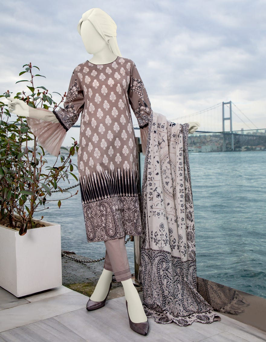 Junaid Jamshed JLAWN-S-21-186 Amare Eid Collection