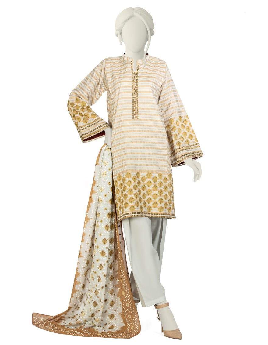 Junaid Jamshed JLAWN-S-21-196 S Penhan Eid Collection