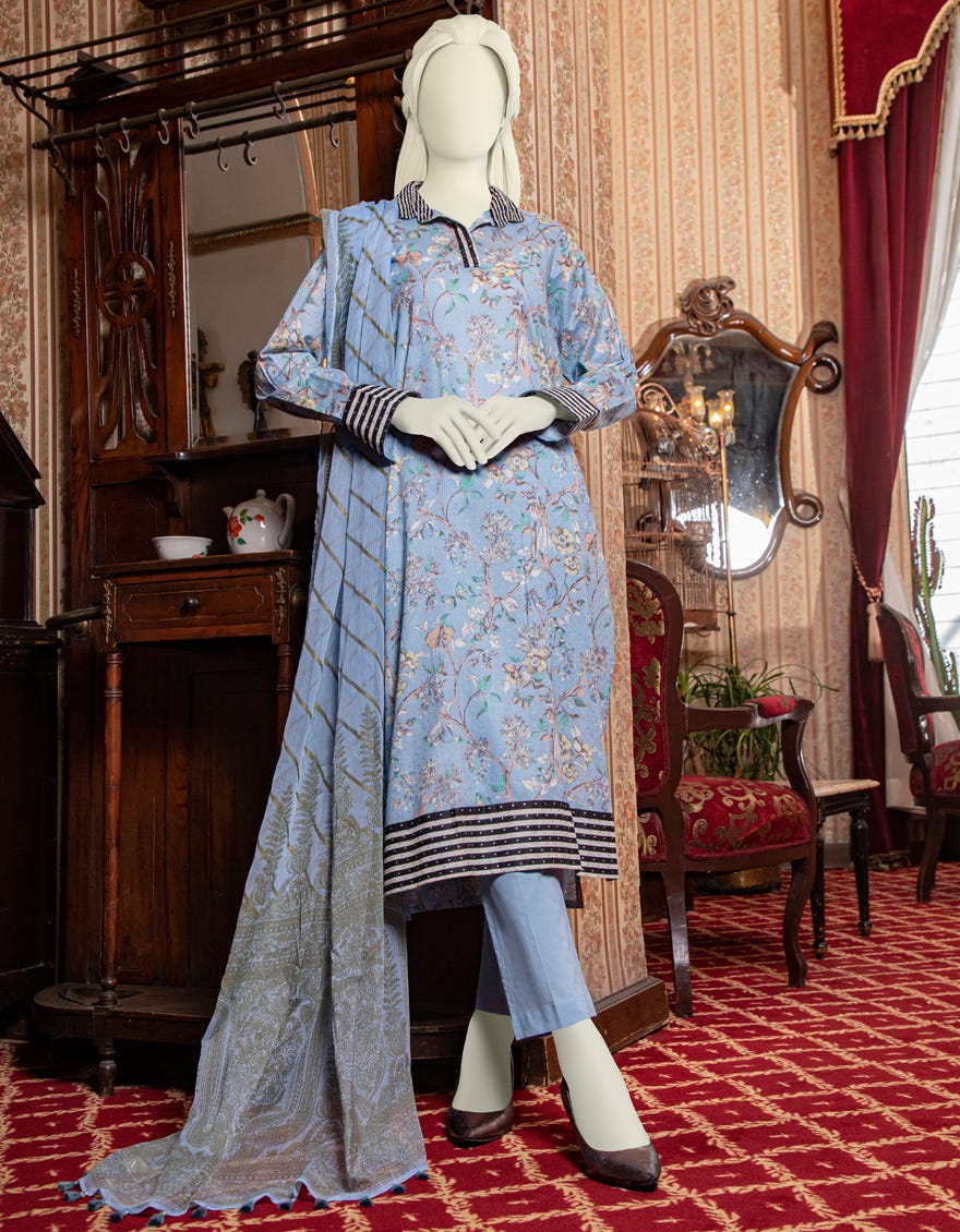 Junaid Jamshed JLAWN-S-21-199 Aelin Eid Collection