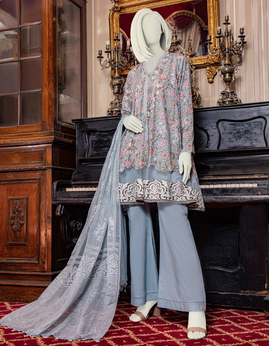 Junaid Jamshed JLAWN-S-21-200 Rozhan Eid Collection