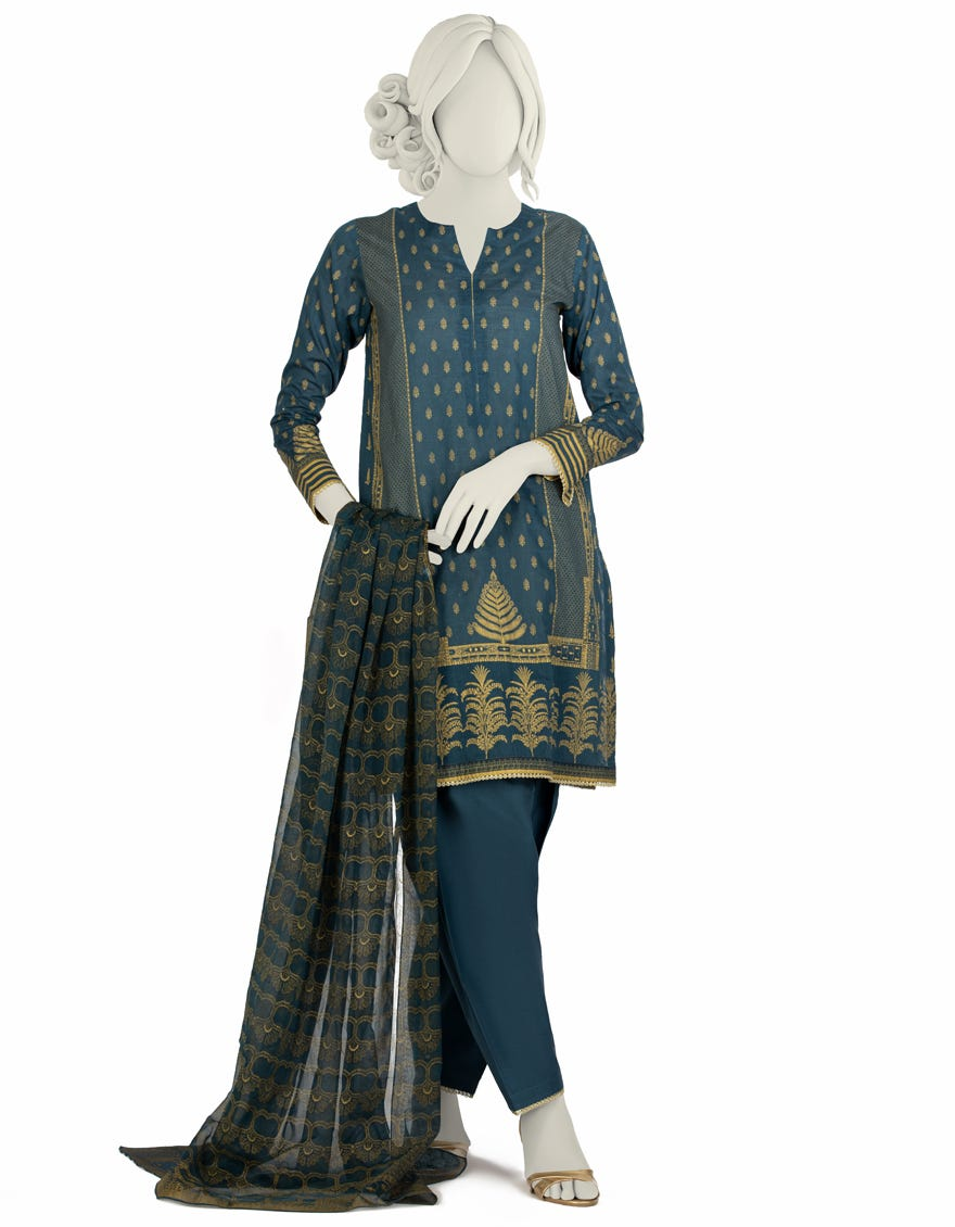 Junaid Jamshed JLAWN-S-21-202 S Inaara Eid Collection