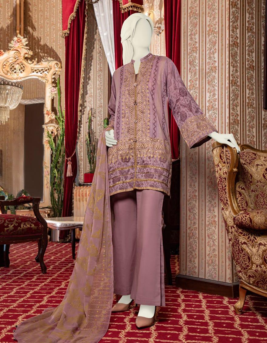 Junaid Jamshed JLAWN-S-21-204 Zane Eid Collection