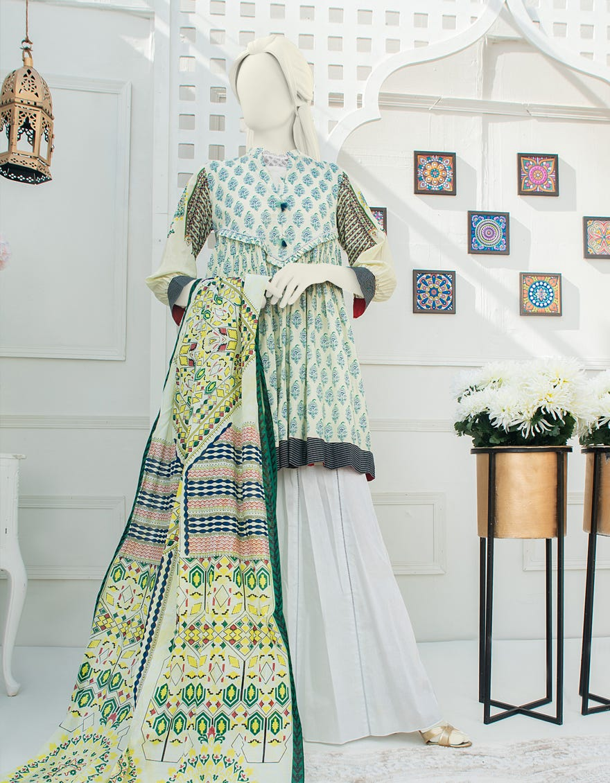 Junaid Jamshed JLAWN-S-21-210 Ruby Eid Collection