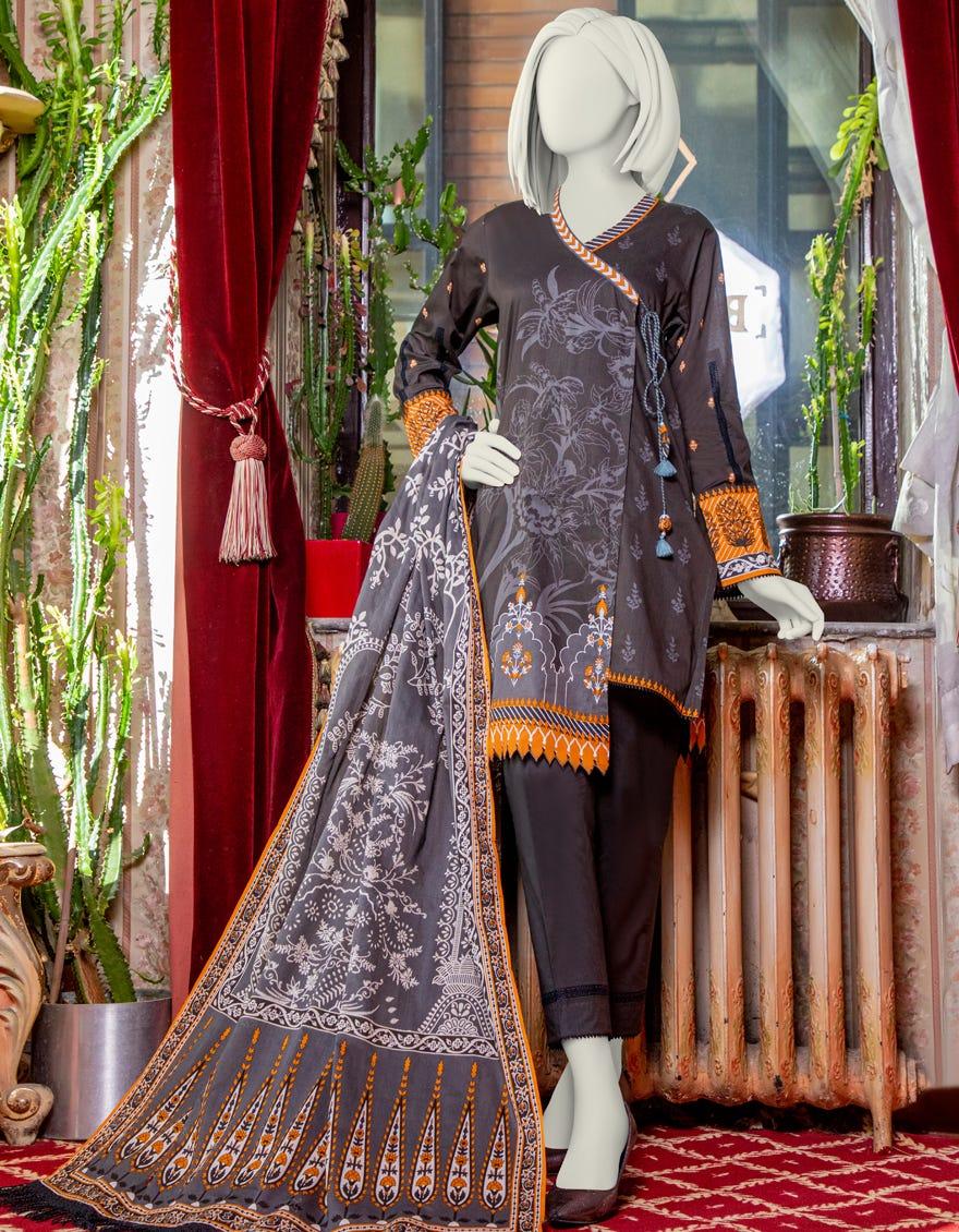 Junaid Jamshed JLAWN-S-21-215 Zarkhaiz Eid Collection