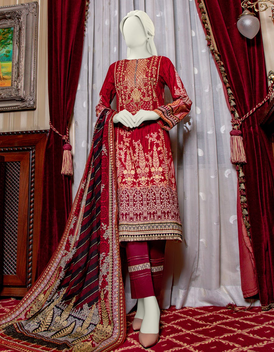 Junaid Jamshed JLAWN-S-21-223 Sky Way Eid Collection