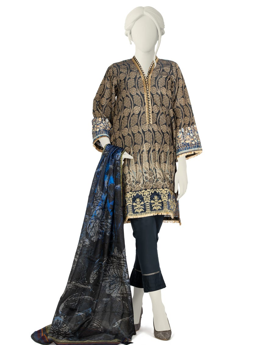 Junaid Jamshed JLAWN-S-21-247 S Azal Eid Collection
