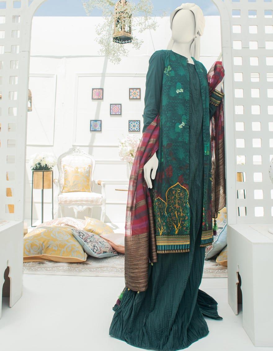 Junaid Jamshed JLAWN-S-21-251 Zeenat Mahal Eid Collection