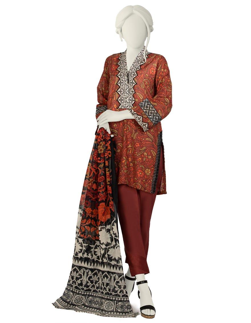 Junaid Jamshed JLAWN-S-21-706 S Bilgah Eid Collection