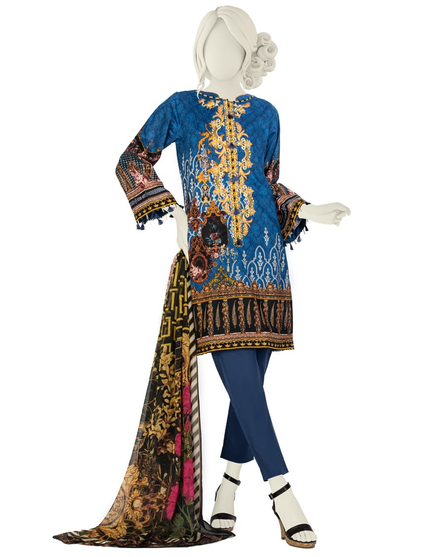 Junaid Jamshed JLAWN-S-21-729 S Legacy Eid Collection