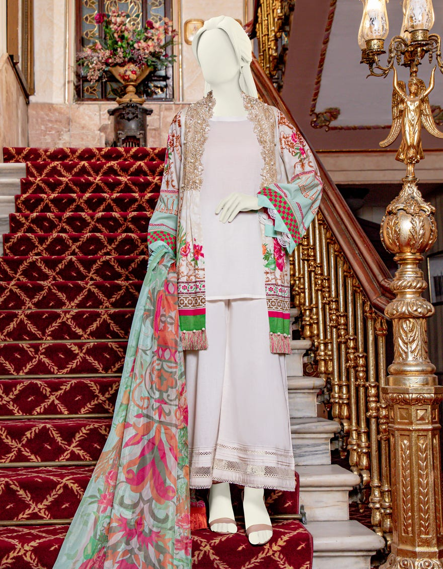 Junaid Jamshed JLAWN-S-21-751 Essential Eid Collection