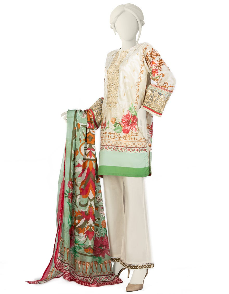 Junaid Jamshed JLAWN-S-21-751 S Essential Eid Collection