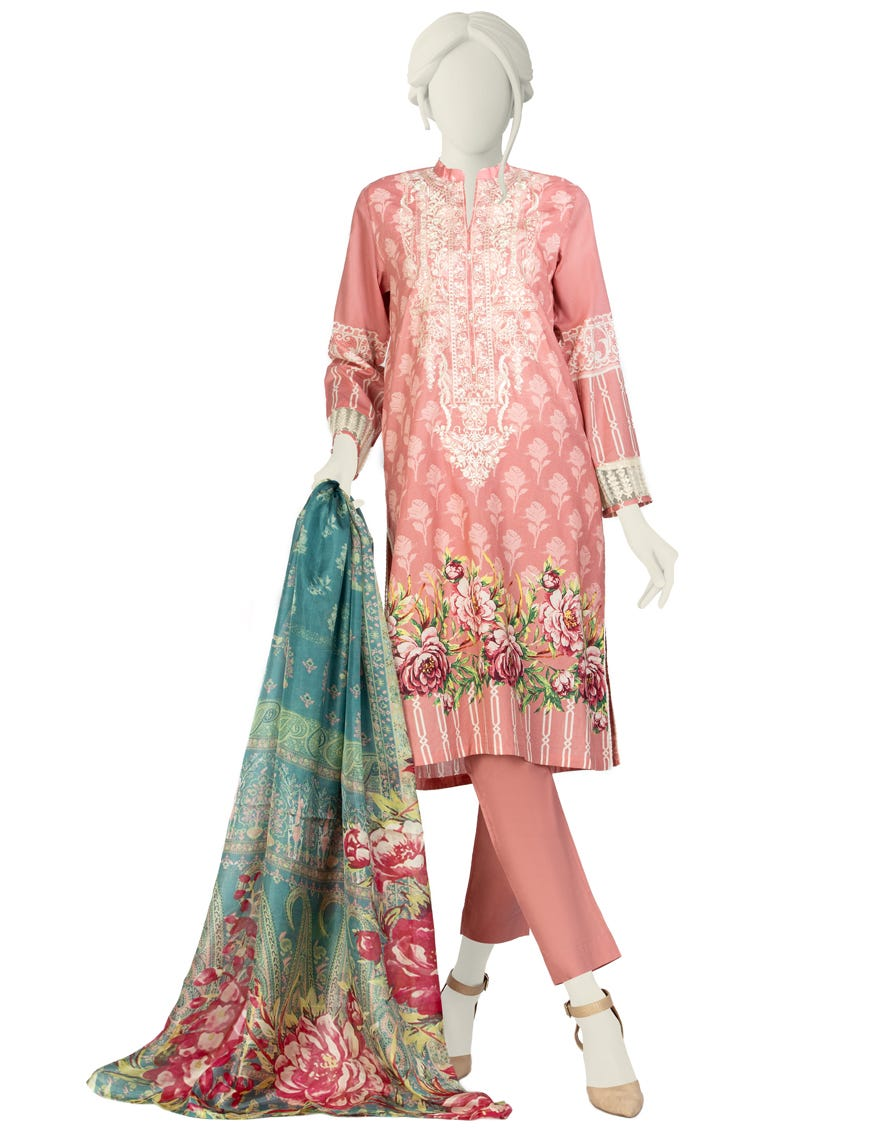 Junaid Jamshed JLAWN-S-21-752 S Maybelle Eid Collection