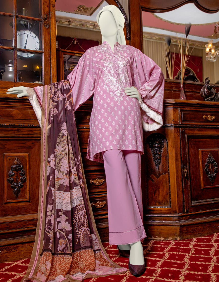 Junaid Jamshed JLAWN-S-21-761 A Haven Eid Collection