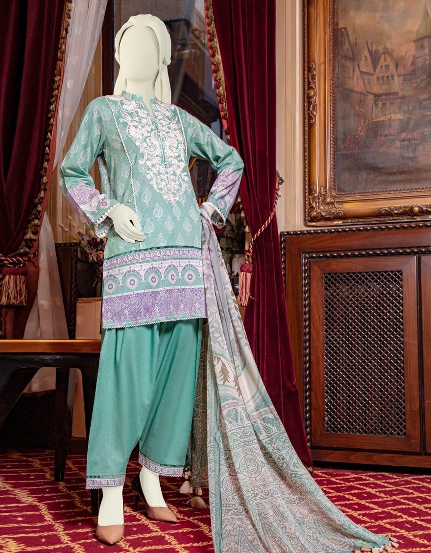 Junaid Jamshed JLAWN-S-21-763 B Twylla Eid Collection