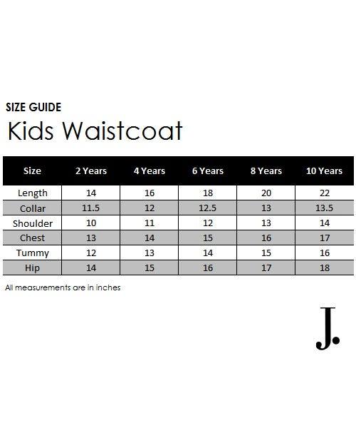 Kids waist coat